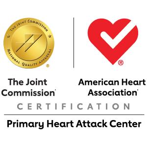 Insignia del premio de la Comisión Conjunta y la Asociación Americana del Corazón