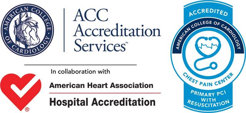Henderson Hospital Receives ACC Chest Pain Center with Primary PCI Accreditation