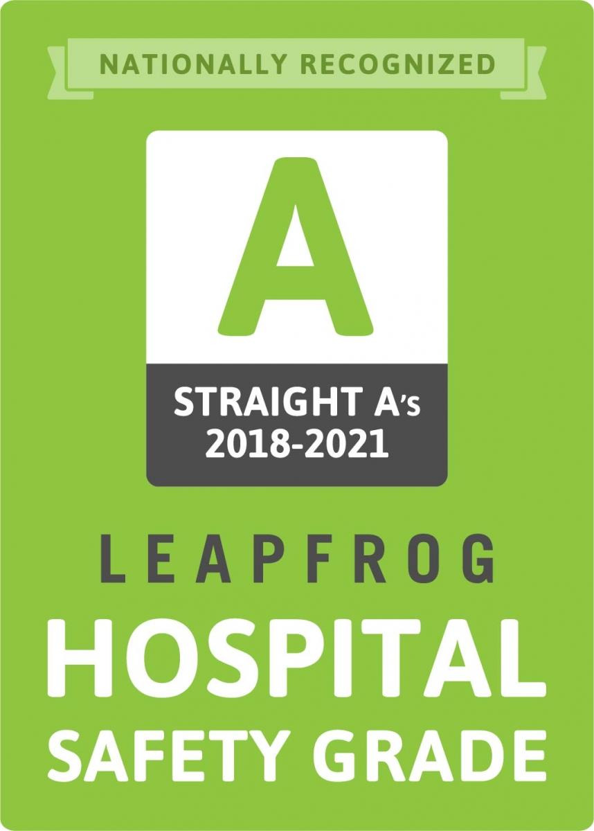 Grado de seguridad hospitalaria de Leapfrog
