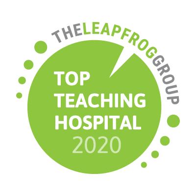 Premio al mejor hospital docente de Leapfrog Group
